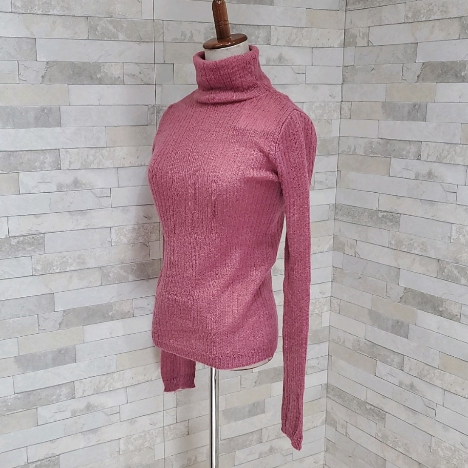 韓国 ファッション トップス ニット セーター 秋 冬 カジュアル PTXH099  タイト目 薄手 リブニット ベーシック 着回し オルチャン シンプル 定番 セレカジの写真7枚目