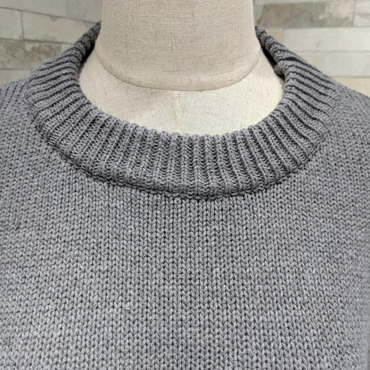 【即納】韓国 ファッション ワンピース 秋 冬 カジュアル SPTXH166  ゆったり リブニットワンピ ビッグシルエット オルチャン シンプル 定番 セレカジの写真8枚目