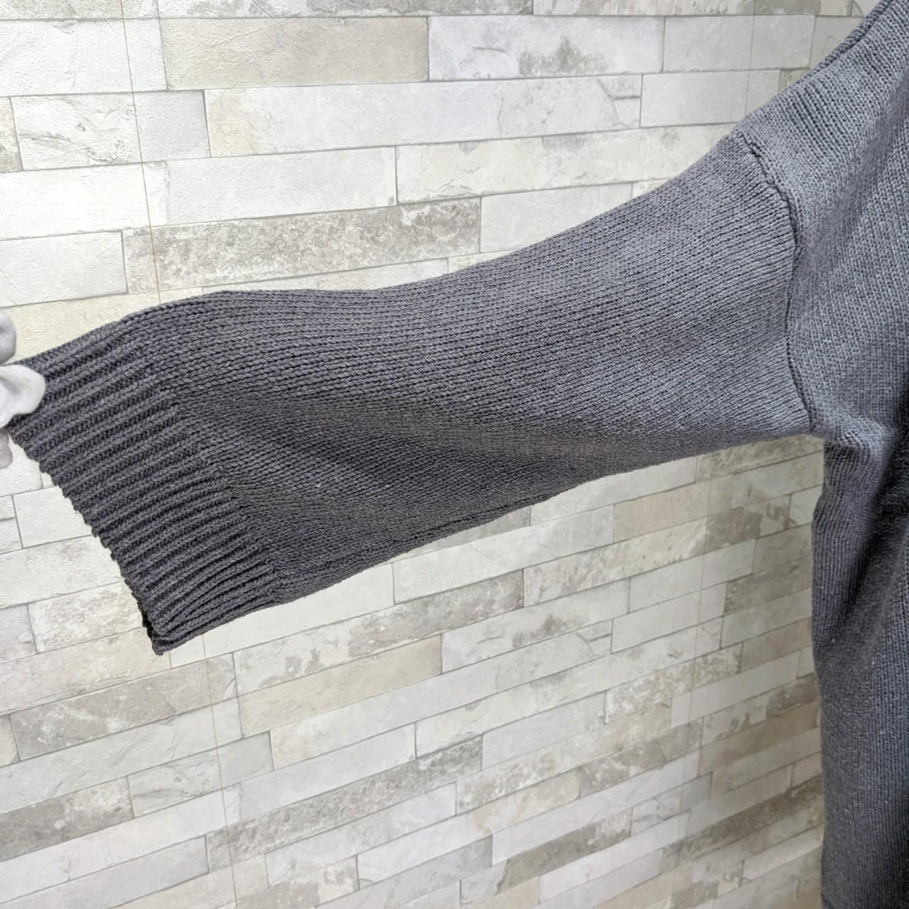 【即納】韓国 ファッション ワンピース 秋 冬 カジュアル SPTXH166  ゆったり リブニットワンピ ビッグシルエット オルチャン シンプル 定番 セレカジの写真10枚目