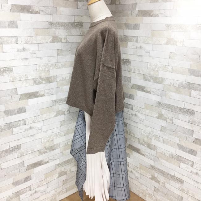 【即納】韓国 ファッション トップス ニット セーター 秋 冬 カジュアル SPTXH221  ビッグシルエット リブ ベーシック 着回し オルチャン シンプル 定番 セレカジの写真12枚目