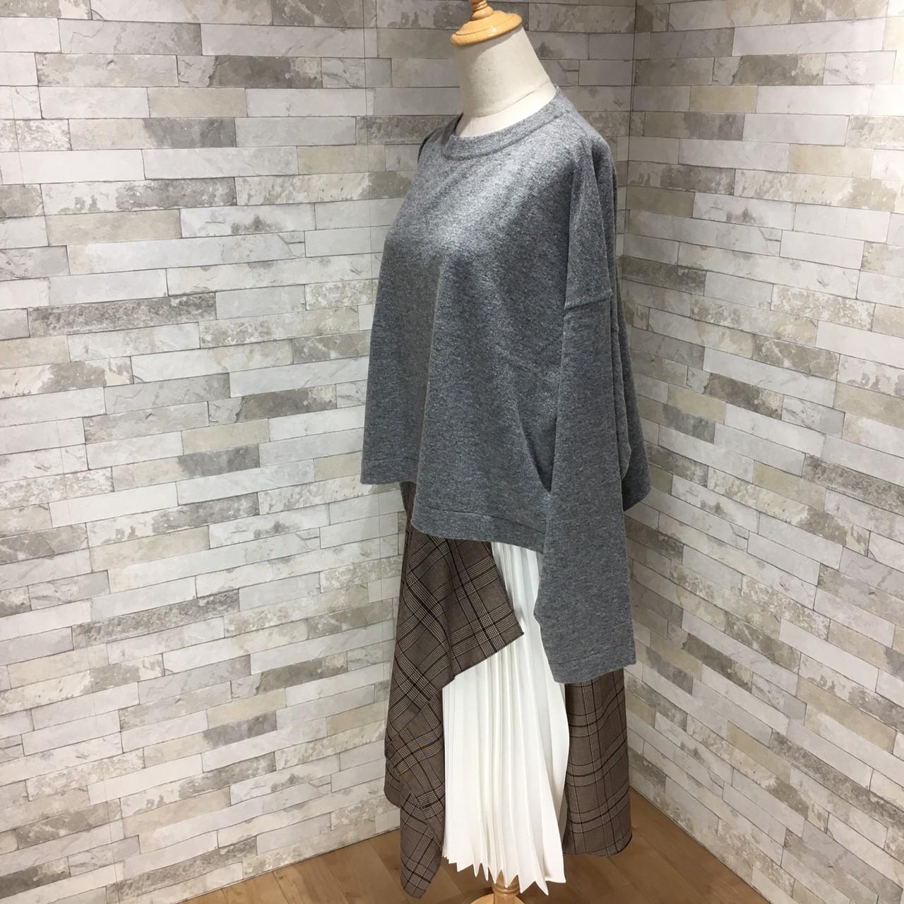 【即納】韓国 ファッション トップス ニット セーター 秋 冬 カジュアル SPTXH221  ビッグシルエット リブ ベーシック 着回し オルチャン シンプル 定番 セレカジの写真17枚目