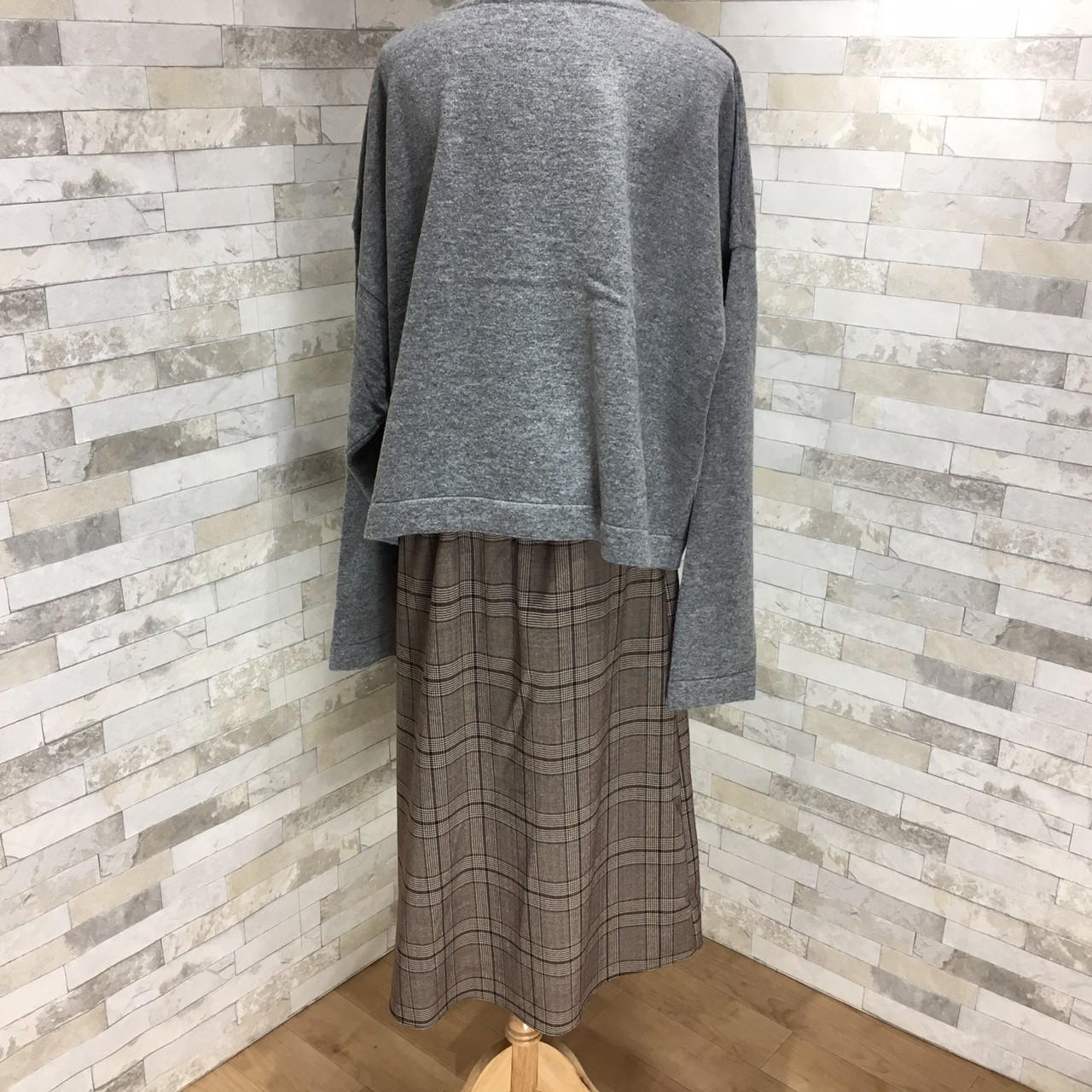 【即納】韓国 ファッション トップス ニット セーター 秋 冬 カジュアル SPTXH221  ビッグシルエット リブ ベーシック 着回し オルチャン シンプル 定番 セレカジの写真19枚目