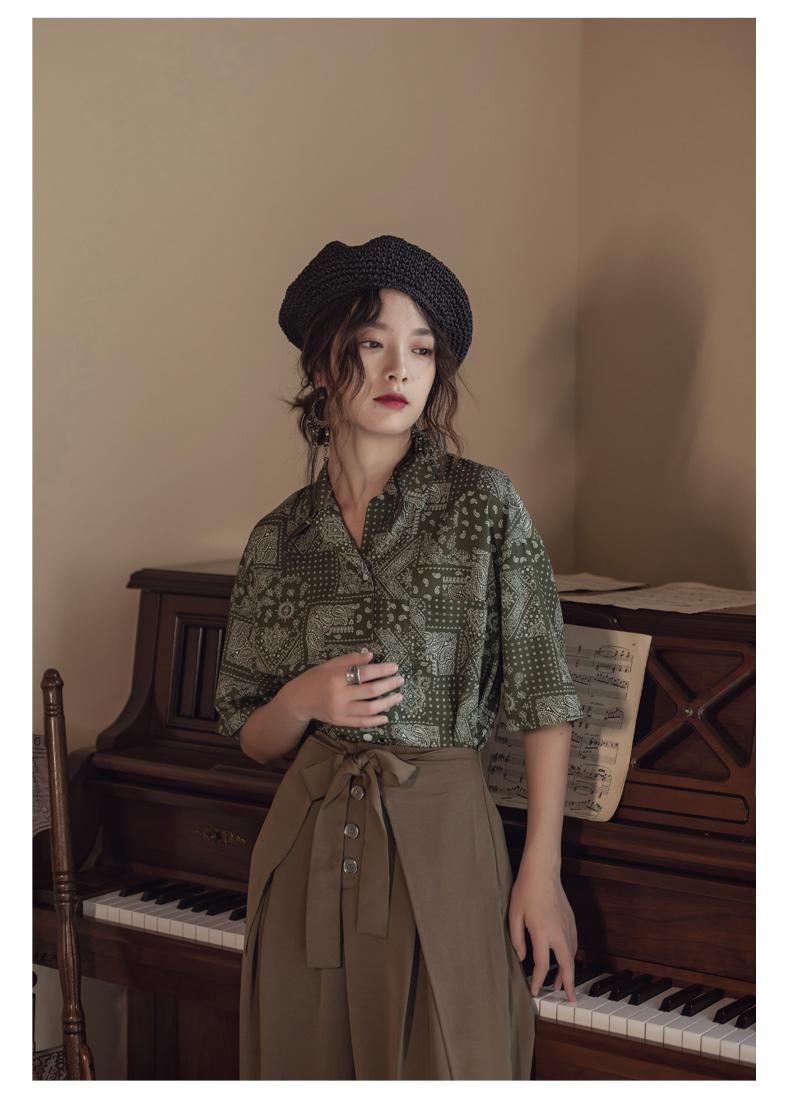 韓国 ファッション パンツ ボトムス 春 夏 リゾート パーティー PTXH390  スリットパンツ風 ウエストリボン リゾート オルチャン セレブ セクシーの写真12枚目