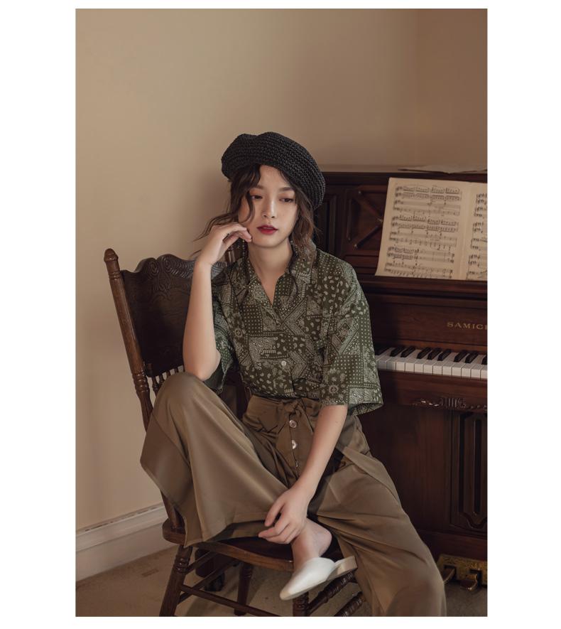 韓国 ファッション パンツ ボトムス 春 夏 リゾート パーティー PTXH390  スリットパンツ風 ウエストリボン リゾート オルチャン セレブ セクシーの写真15枚目