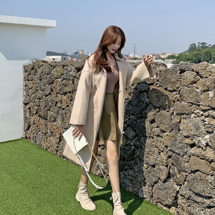 韓国 ファッション アウター コート 春 秋 冬 カジュアル PTXH419  ビッグシルエット ベーシック 着回し オルチャン シンプル 定番 セレカジの写真19枚目