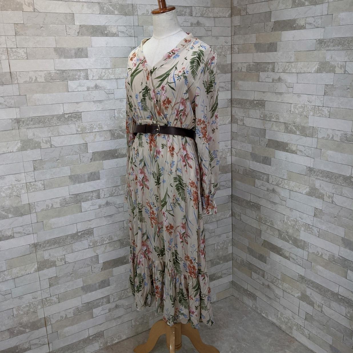 韓国 ファッション ワンピース 夏 春 カジュアル PTXH422  シアー シフォン風 エレガント 着回し オルチャン シンプル 定番 セレカジの写真5枚目