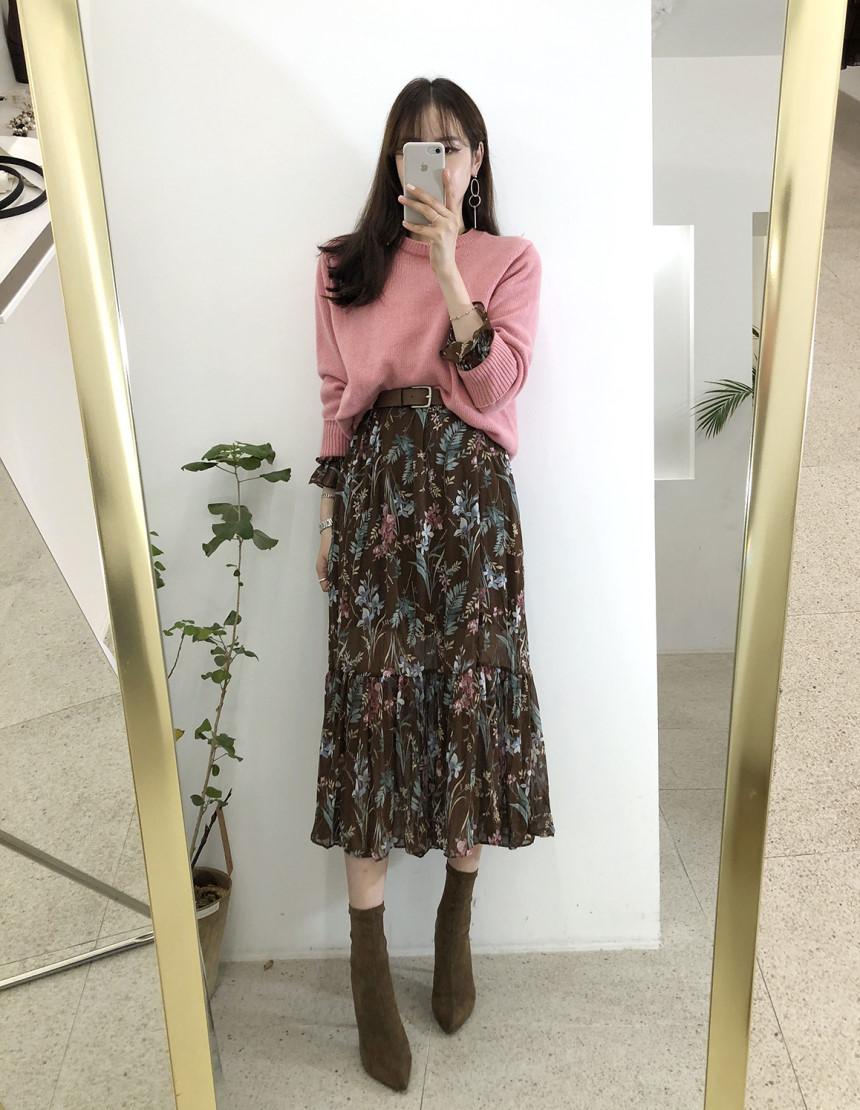 韓国 ファッション ワンピース 夏 春 カジュアル PTXH422  シアー シフォン風 エレガント 着回し オルチャン シンプル 定番 セレカジの写真7枚目
