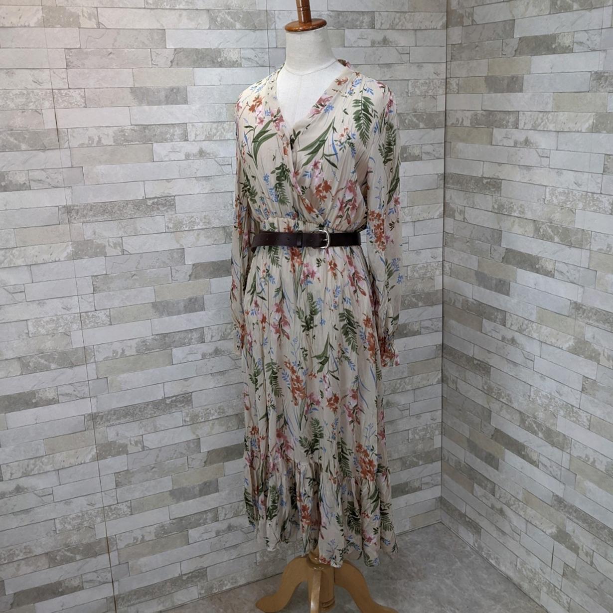 韓国 ファッション ワンピース 夏 春 カジュアル PTXH422  シアー シフォン風 エレガント 着回し オルチャン シンプル 定番 セレカジの写真9枚目