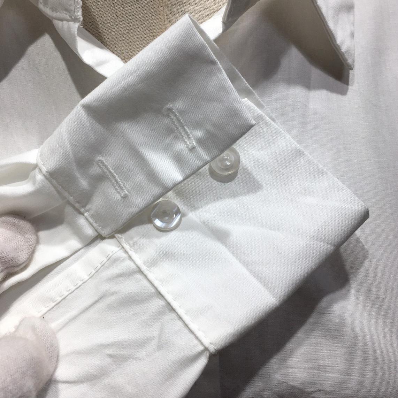 韓国 ファッション トップス ブラウス シャツ 春 夏 カジュアル PTXH430  ビッグシルエット フィッシュテール ベーシック オルチャン シンプル 定番 セレカジの写真20枚目