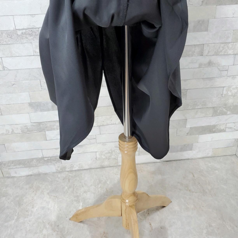 韓国 ファッション ワンピース 春 秋 冬 カジュアル PTXH448  とろみ素材 アシンメトリー ベーシック 着回し オルチャン シンプル 定番 セレカジの写真20枚目