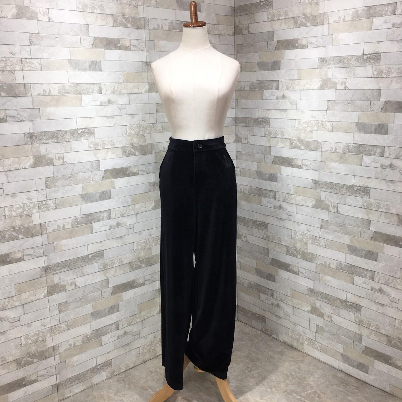 【即納】韓国 ファッション パンツ セットアップ パーティードレス 結婚式 お呼ばれドレス 秋 冬 パーティー ブライダル SPTXH554  起毛 ドレープ テーラードジャ 二次会 セレブ きれいめの写真14枚目