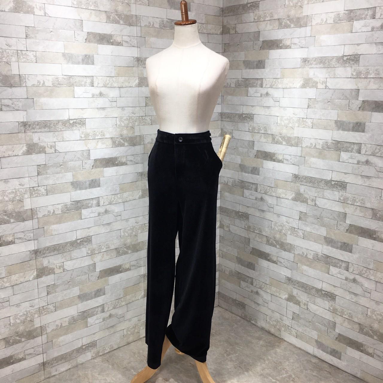 【即納】韓国 ファッション パンツ セットアップ パーティードレス 結婚式 お呼ばれドレス 秋 冬 パーティー ブライダル SPTXH554  起毛 ドレープ テーラードジャ 二次会 セレブ きれいめの写真15枚目