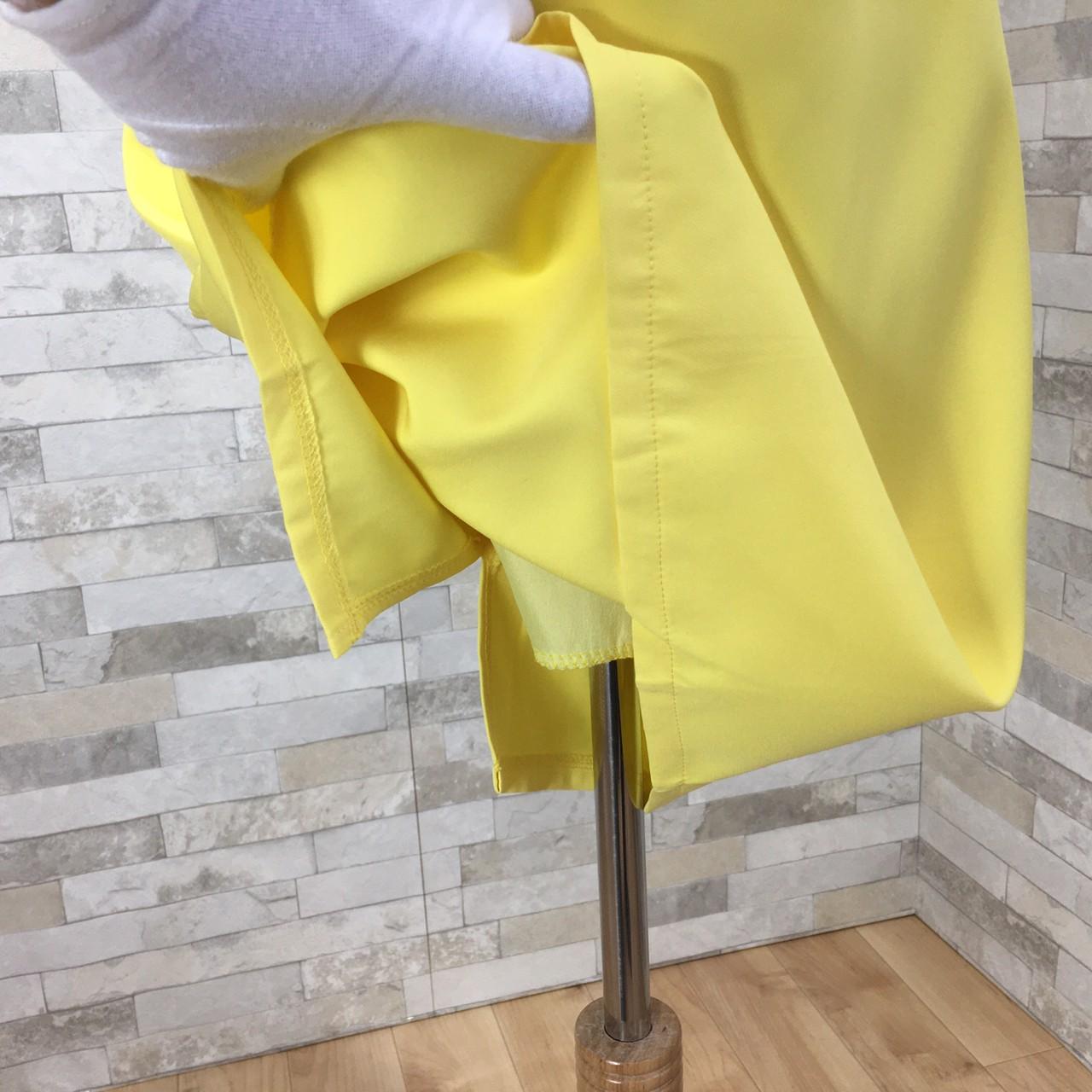 韓国 ファッション ワンピース パーティードレス ショート ミニ丈 夏 春 パーティー ブライダル PTXH937 結婚式 お呼ばれ キレイ色 ベーシックデザイン 着回し シ 二次会 セレブ きれいめの写真8枚目