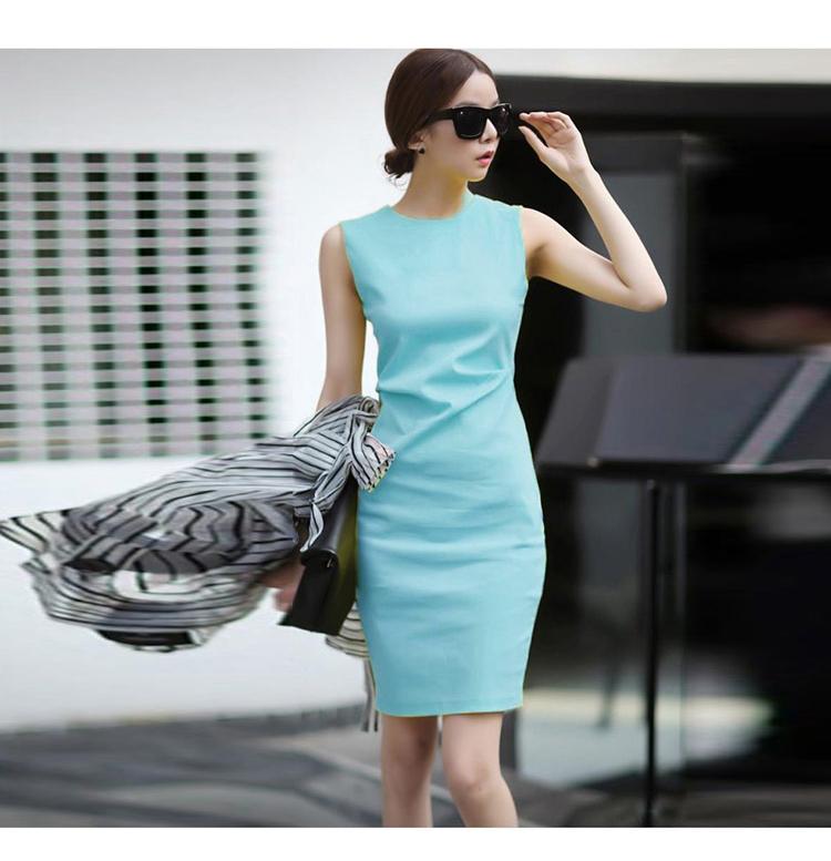 韓国 ファッション ワンピース パーティードレス ショート ミニ丈 夏 春 パーティー ブライダル PTXH937 結婚式 お呼ばれ キレイ色 ベーシックデザイン 着回し シ 二次会 セレブ きれいめの写真9枚目