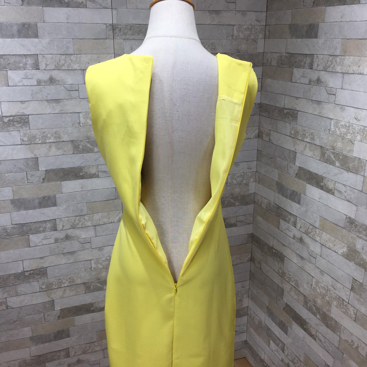 韓国 ファッション ワンピース パーティードレス ショート ミニ丈 夏 春 パーティー ブライダル PTXH937 結婚式 お呼ばれ キレイ色 ベーシックデザイン 着回し シ 二次会 セレブ きれいめの写真14枚目