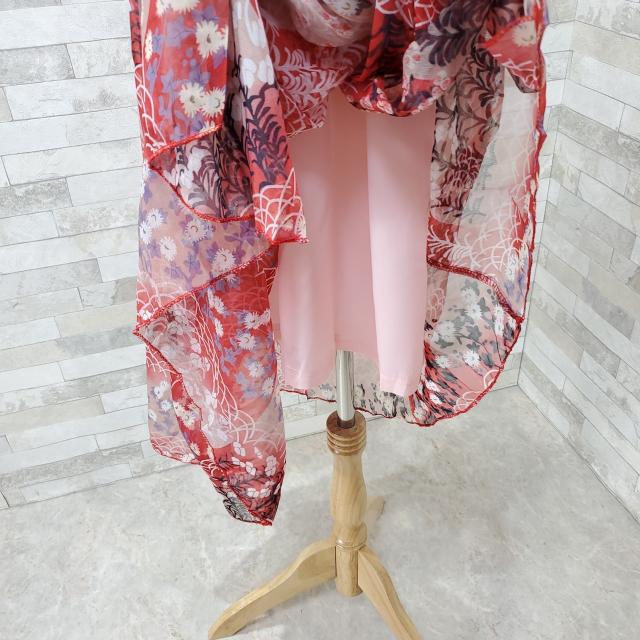 韓国 ファッション ワンピース 春 夏 カジュアル PTXH964  シアー オフショルダー風 フレアトップ 肩見せ オルチャン シンプル 定番 セレカジの写真11枚目