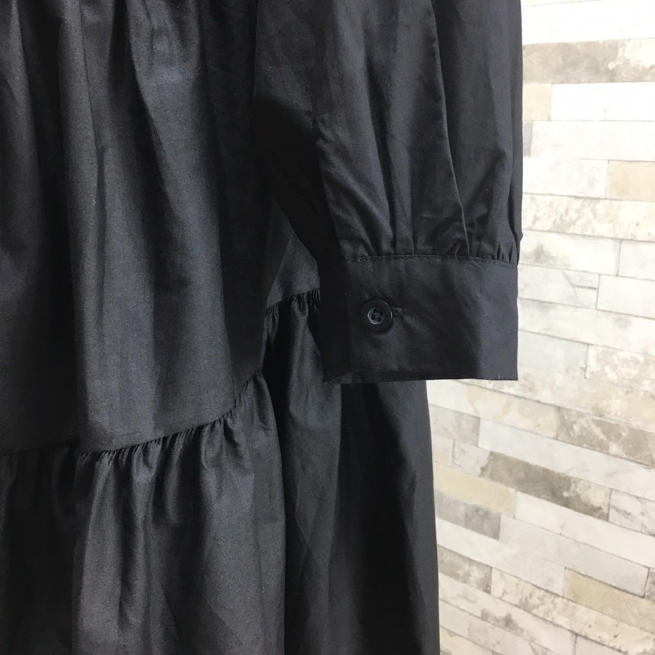 【即納】韓国 ファッション ワンピース 春 夏 秋 カジュアル SPTXI149  ティアード ドレープ ギャザー ゆったり オルチャン シンプル 定番 セレカジの写真19枚目