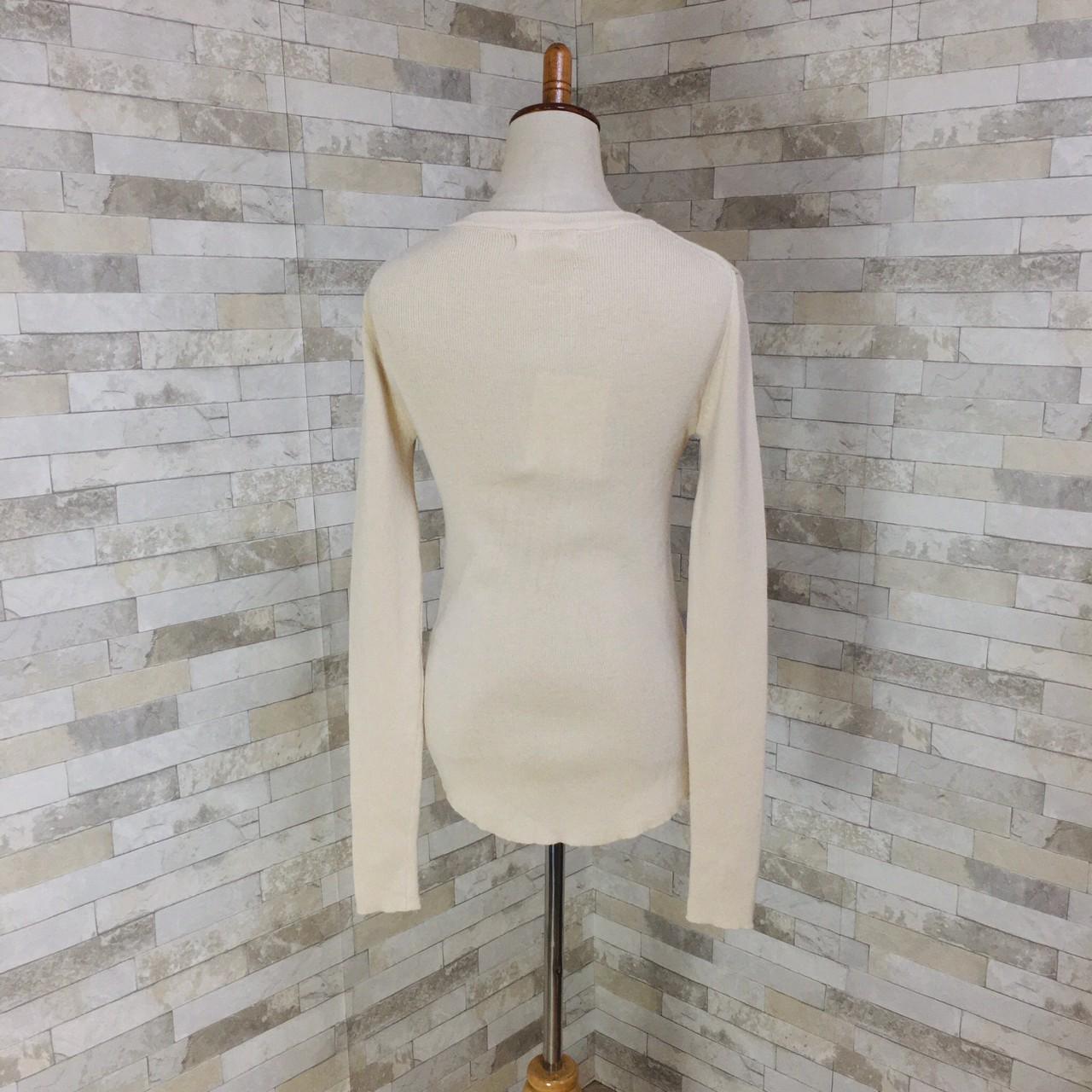 韓国 ファッション トップス ニット セーター 春 夏 秋 カジュアル PTXI258  シアー 薄手 リブニット ジャケットインナー オルチャン シンプル 定番 セレカジの写真19枚目