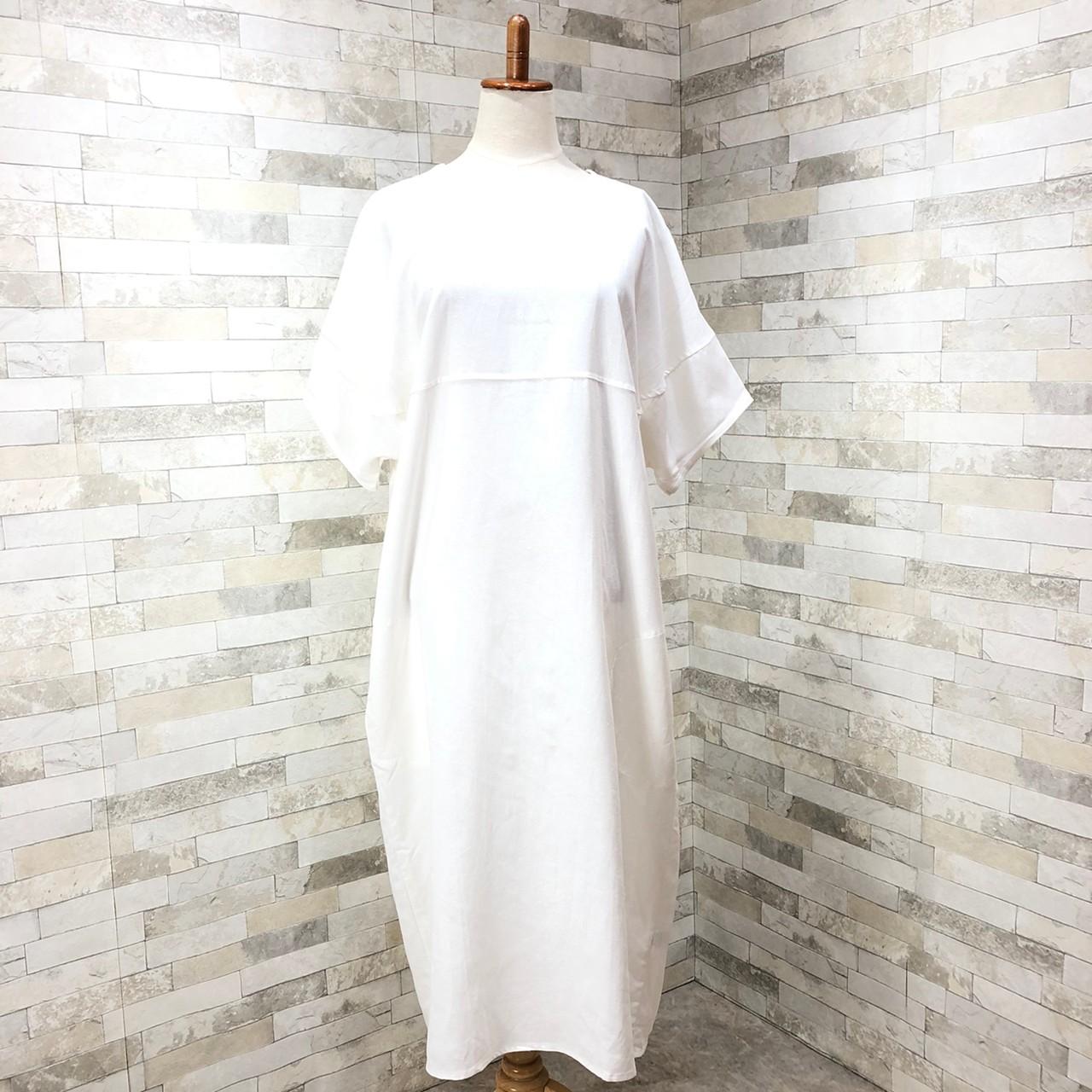 韓国 ファッション ワンピース 夏 春 カジュアル PTXI416  袖コンシャス ゆったり 体型カバー ラフ オルチャン シンプル 定番 セレカジの写真2枚目