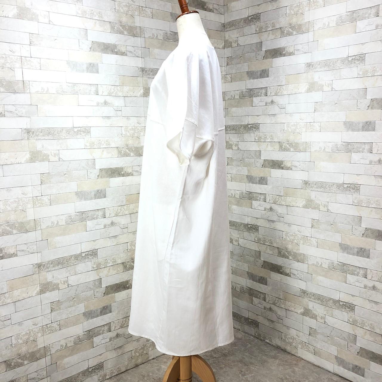 韓国 ファッション ワンピース 春 夏 カジュアル PTXI416  袖コンシャス ゆったり 体型カバー ラフ オルチャン シンプル 定番 セレカジの写真8枚目