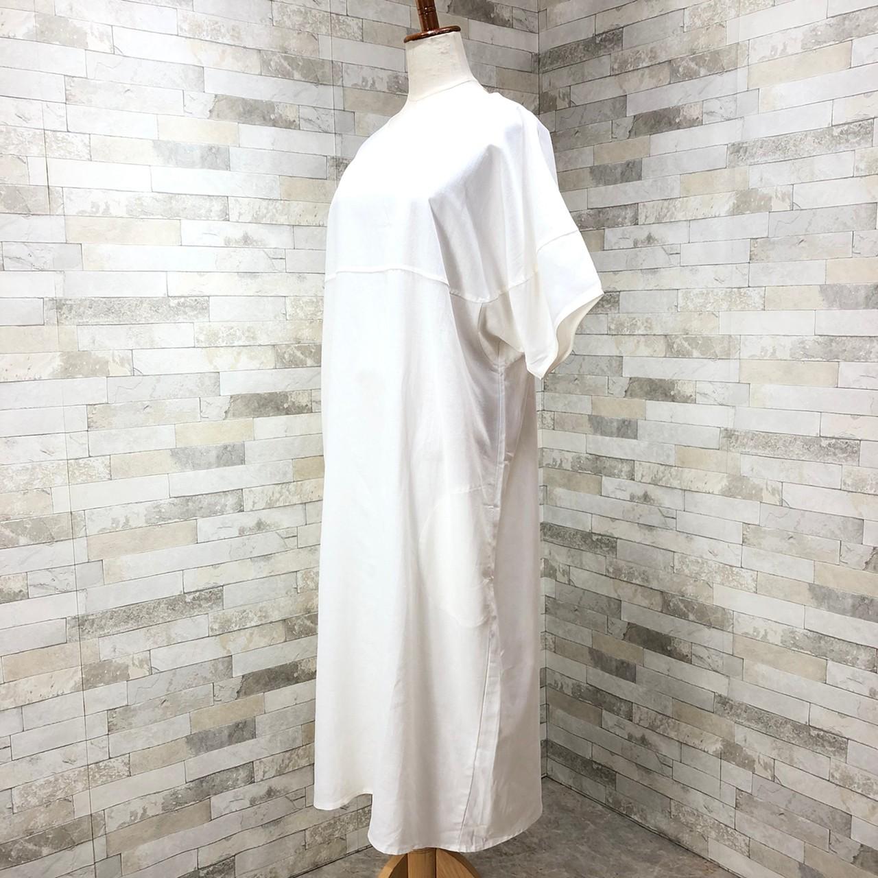 韓国 ファッション ワンピース 春 夏 カジュアル PTXI416  袖コンシャス ゆったり 体型カバー ラフ オルチャン シンプル 定番 セレカジの写真9枚目