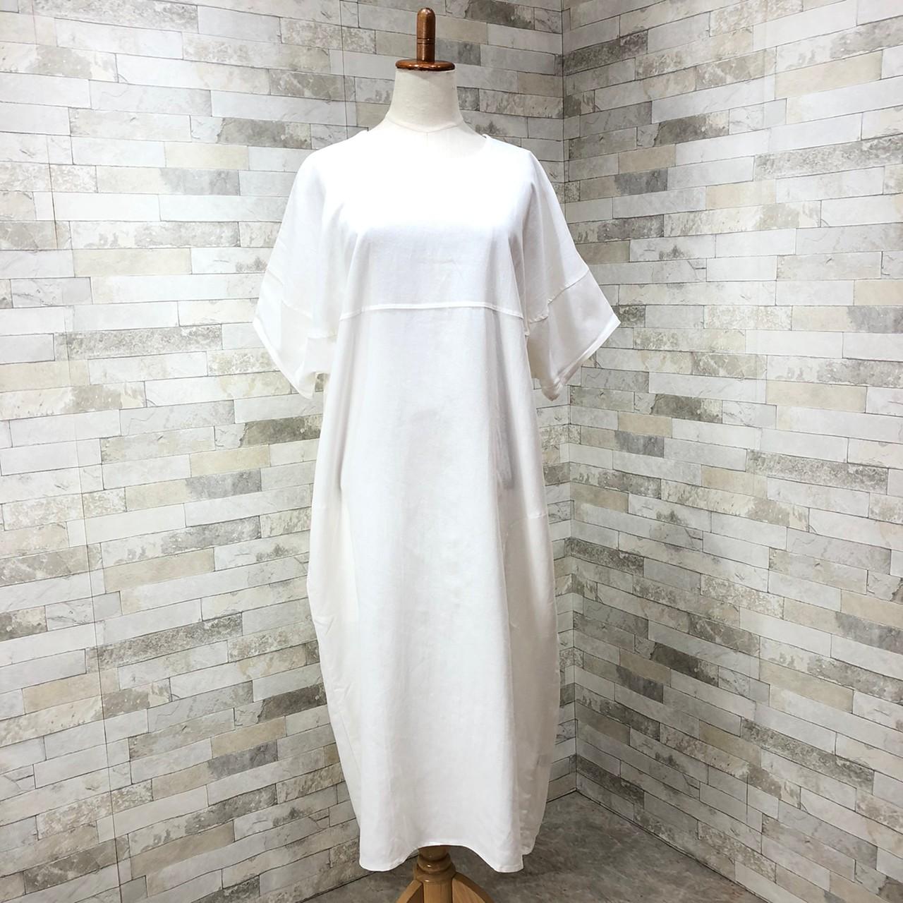 韓国 ファッション ワンピース 春 夏 カジュアル PTXI416  袖コンシャス ゆったり 体型カバー ラフ オルチャン シンプル 定番 セレカジの写真11枚目