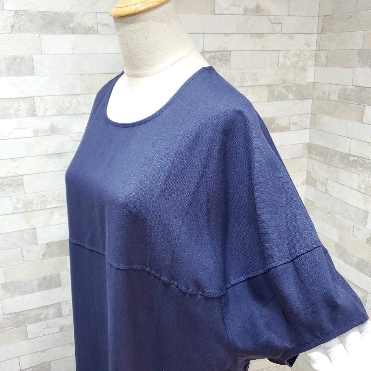 韓国 ファッション ワンピース 春 夏 カジュアル PTXI416  袖コンシャス ゆったり 体型カバー ラフ オルチャン シンプル 定番 セレカジの写真12枚目