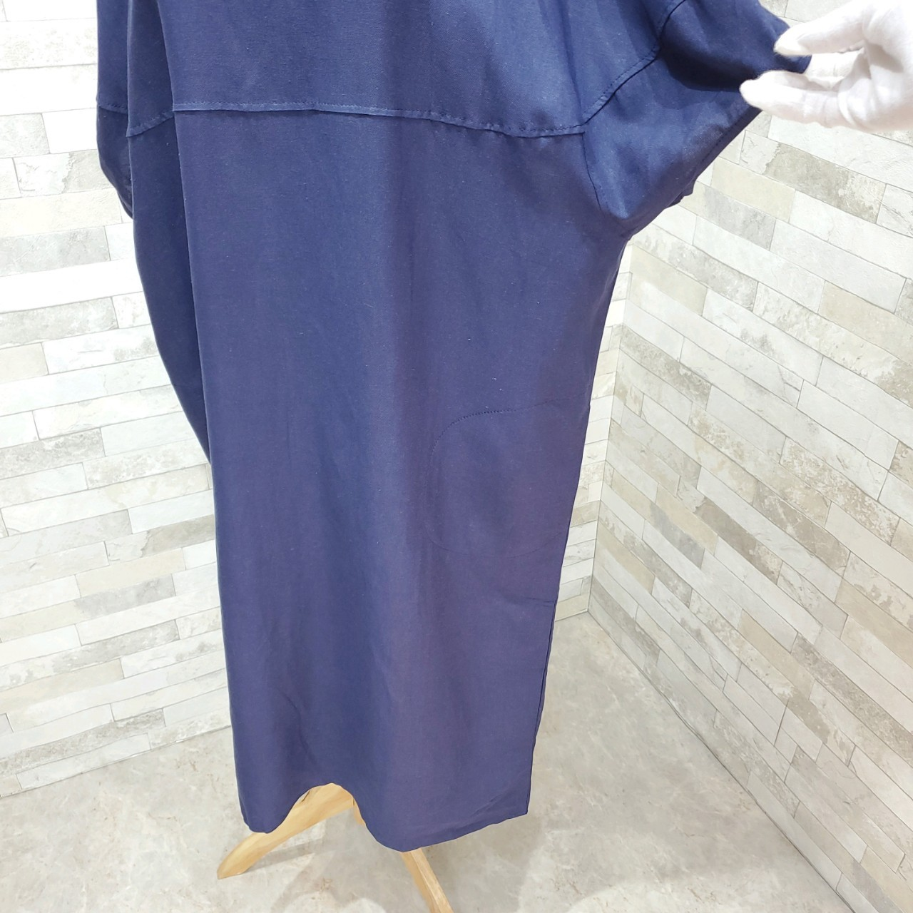 韓国 ファッション ワンピース 夏 春 カジュアル PTXI416  袖コンシャス ゆったり 体型カバー ラフ オルチャン シンプル 定番 セレカジの写真13枚目