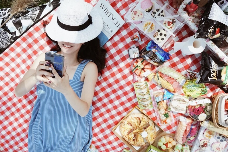 韓国 ファッション オールインワン オーバーオール 春 夏 秋 カジュアル PTXI665  タック ワイドパンツ アシメ チューブワンピ風 オルチャン シンプル 定番 セレカジの写真10枚目