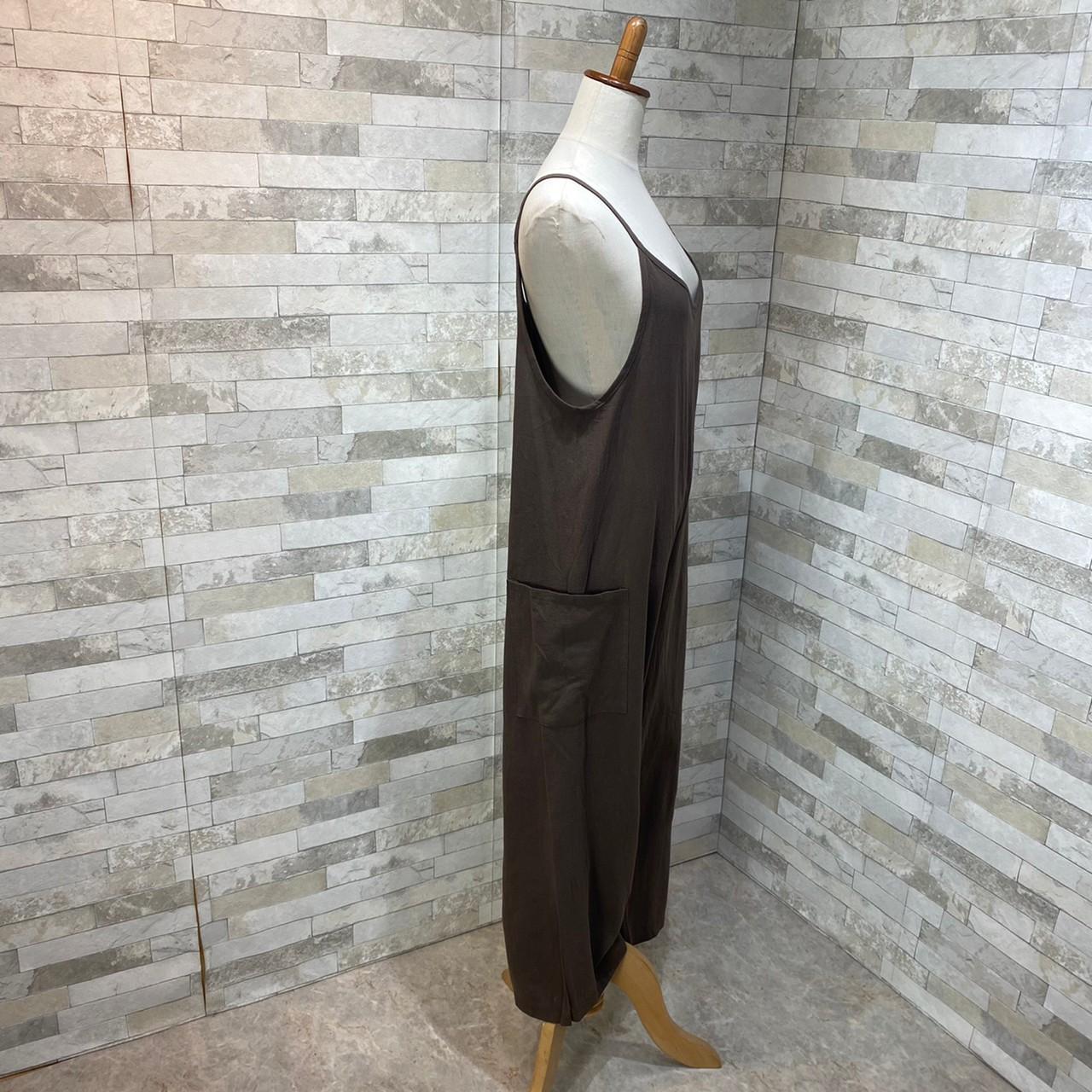 韓国 ファッション オールインワン オーバーオール 春 夏 秋 カジュアル PTXI712  コットンリネン風 ゆったり ラフ シンプル オルチャン シンプル 定番 セレカジの写真18枚目