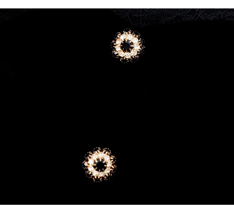 韓国 ファッション ワンピース パーティードレス ショート ミニ丈 春 秋 冬 パーティー ブライダル PTXI842 結婚式 お呼ばれ バックリボン ハイネック フレア A 二次会 セレブ きれいめの写真15枚目
