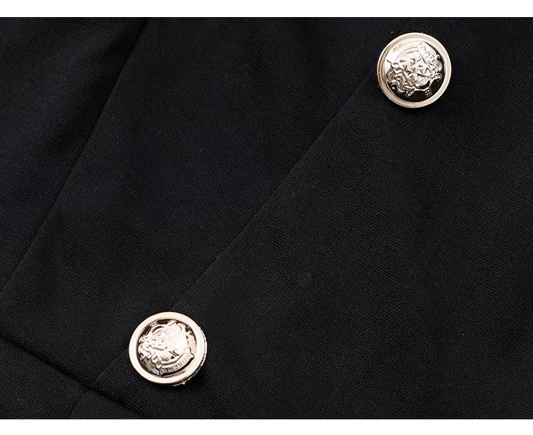 韓国 ファッション ワンピース パーティードレス ショート ミニ丈 春 秋 冬 パーティー ブライダル PTXI858 結婚式 お呼ばれ シースルー ボウタイ アシンメトリー 二次会 セレブ きれいめの写真18枚目