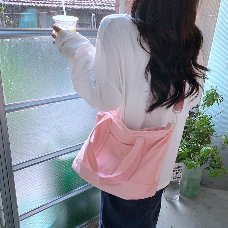 韓国 ファッション ボストンバッグ 春 夏 秋 冬 カジュアル PTXJ078  ボストンバッグ スタイリストバッグ 小旅行  オルチャン シンプル 定番 セレカジの写真8枚目
