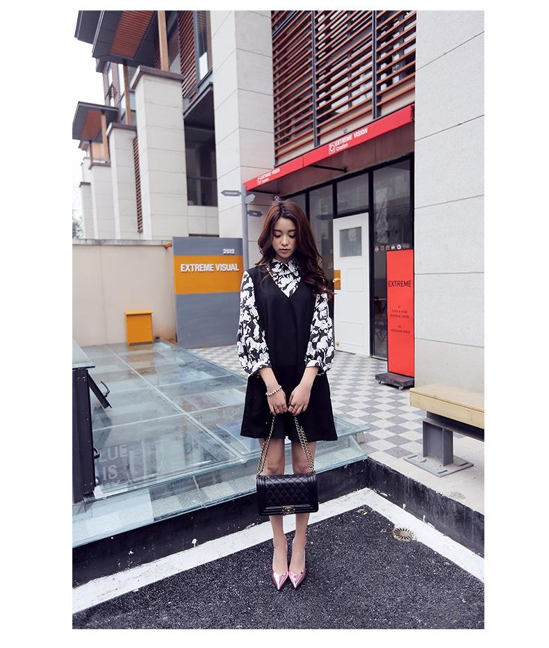 韓国 ファッション パンプス 春 夏 秋 冬 パーティー ブライダル PTXJ283  メタリック オルセーパンプス ゴージャス 二次会 セレブ きれいめの写真16枚目