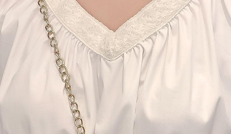 韓国 ファッション ワンピース 春 夏 カジュアル PTXJ464  オフショル 2way フリル ティアード ミディ丈 オルチャン シンプル 定番 セレカジの写真14枚目