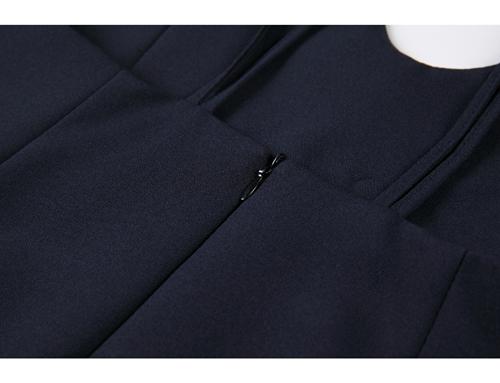韓国 ファッション ワンピース 春 夏 秋 カジュアル PTXJ466  シンプル 着回し ジャンスカ スリップドレス風 オルチャン シンプル 定番 セレカジの写真19枚目