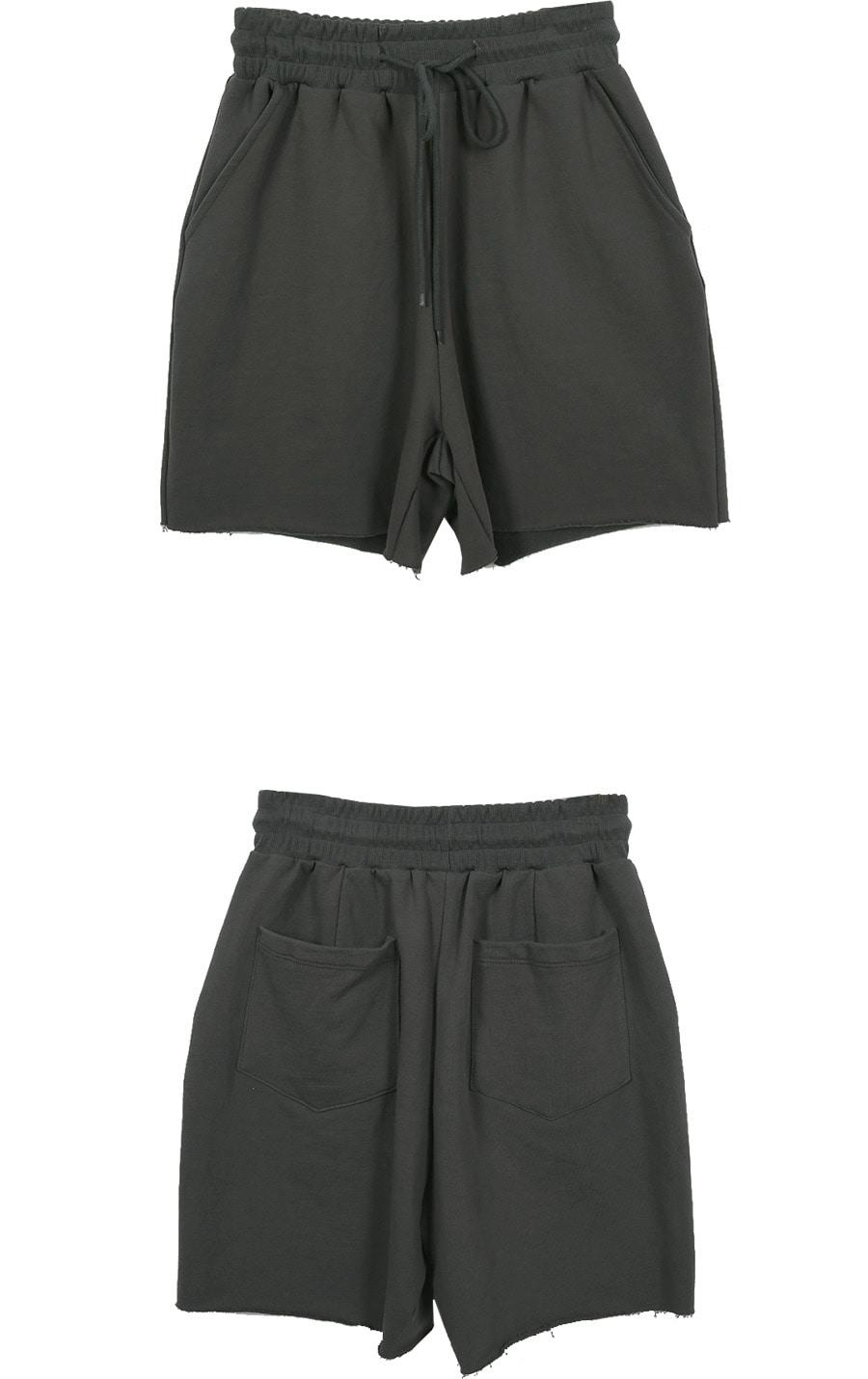 韓国 ファッション セットアップ 春 夏 秋 カジュアル PTXJ567  オーバーサイズ ベスト ショートパンツ オルチャン シンプル 定番 セレカジの写真16枚目