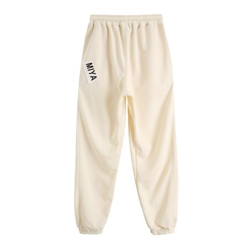 韓国 ファッション パンツ ボトムス 春 夏 カジュアル PTXJ586  ワイド 裾リブ ゆったり スウェット 着回し オルチャン シンプル 定番 セレカジの写真15枚目