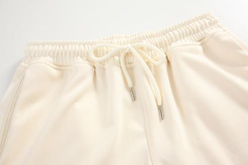 韓国 ファッション パンツ ボトムス 春 夏 カジュアル PTXJ586  ワイド 裾リブ ゆったり スウェット 着回し オルチャン シンプル 定番 セレカジの写真16枚目