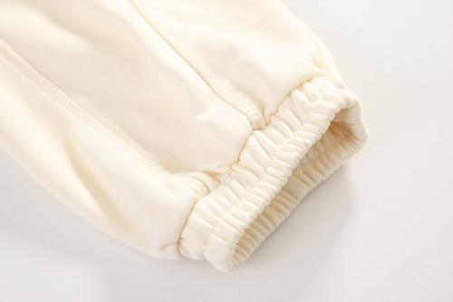 韓国 ファッション パンツ ボトムス 春 夏 カジュアル PTXJ586  ワイド 裾リブ ゆったり スウェット 着回し オルチャン シンプル 定番 セレカジの写真19枚目
