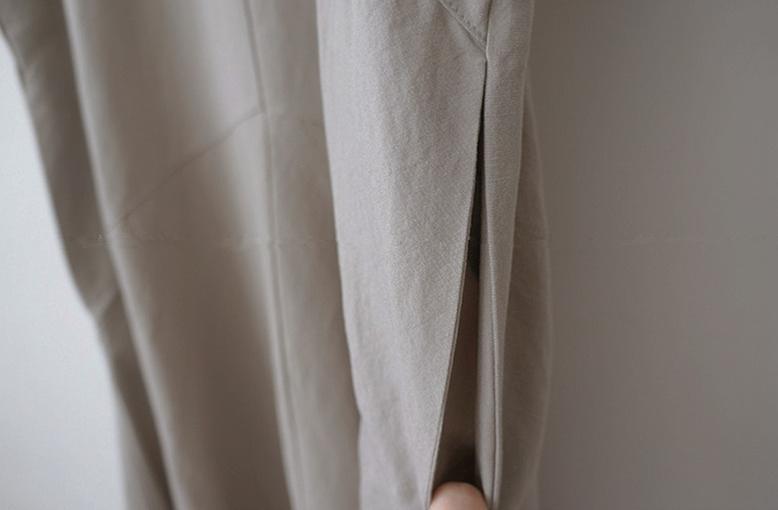 韓国 ファッション ワンピース 春 夏 カジュアル PTXJ608  ゆったり ナチュラルテイスト イレギュラーヘム オルチャン シンプル 定番 セレカジの写真17枚目