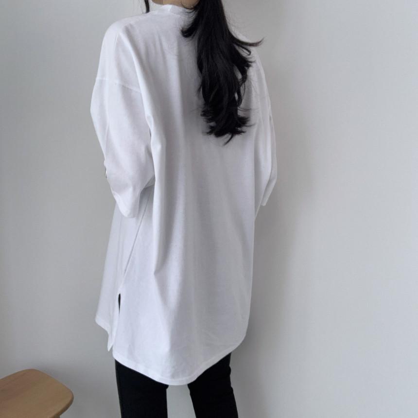 韓国 ファッション トップス Tシャツ カットソー 春 夏 カジュアル PTXJ669  シャーベットカラー オーバーサイズ Tシャツ オルチャン シンプル 定番 セレカジの写真12枚目