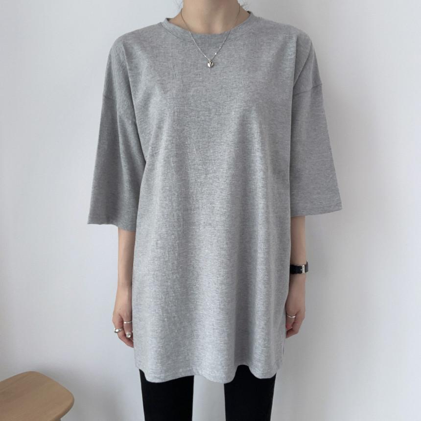 韓国 ファッション トップス Tシャツ カットソー 春 夏 カジュアル PTXJ669  シャーベットカラー オーバーサイズ Tシャツ オルチャン シンプル 定番 セレカジの写真17枚目