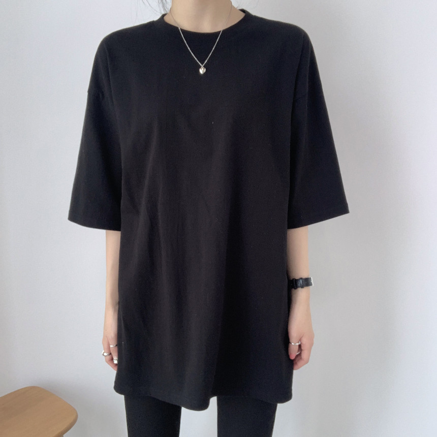 韓国 ファッション トップス Tシャツ カットソー 春 夏 カジュアル PTXJ669  シャーベットカラー オーバーサイズ Tシャツ オルチャン シンプル 定番 セレカジの写真19枚目