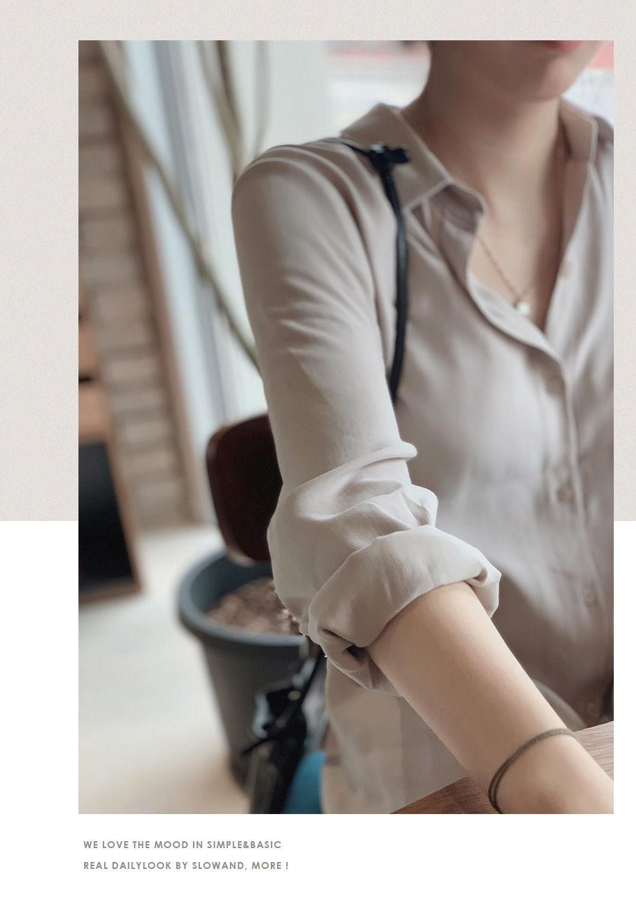 韓国 ファッション セットアップ 春 夏 秋 カジュアル PTXJ760  オーバーサイズ シャツワンピ ベスト ゆったり オルチャン シンプル 定番 セレカジの写真14枚目