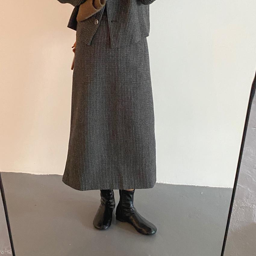 韓国 ファッション セットアップ 春 夏 秋 カジュアル PTXJ975  渋色 オーバーサイズ ノーカラー シック オルチャン シンプル 定番 セレカジの写真18枚目