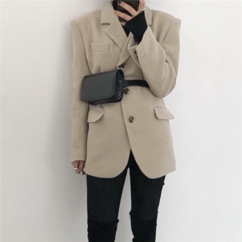 韓国 ファッション ショルダー ポシェット 春 夏 カジュアル PTXK156  ウエストポーチ 型押し ショルダーバッグ オルチャン シンプル 定番 セレカジの写真11枚目