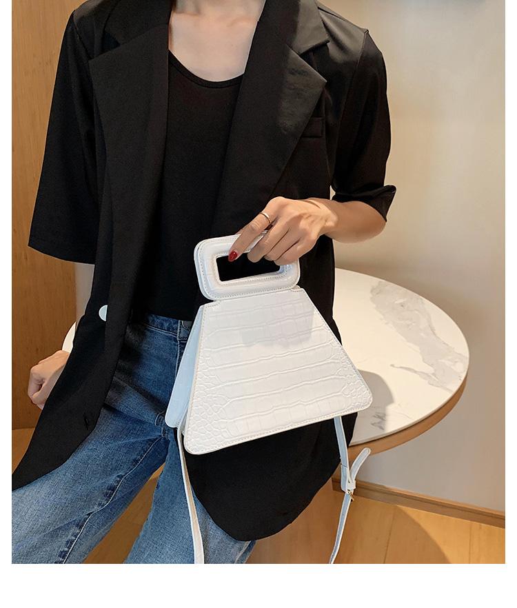 韓国 ファッション ショルダー ポシェット 春 夏 カジュアル PTXK161  型押し 光沢 ポシェット ミニバッグ 斜め掛け オルチャン シンプル 定番 セレカジの写真11枚目