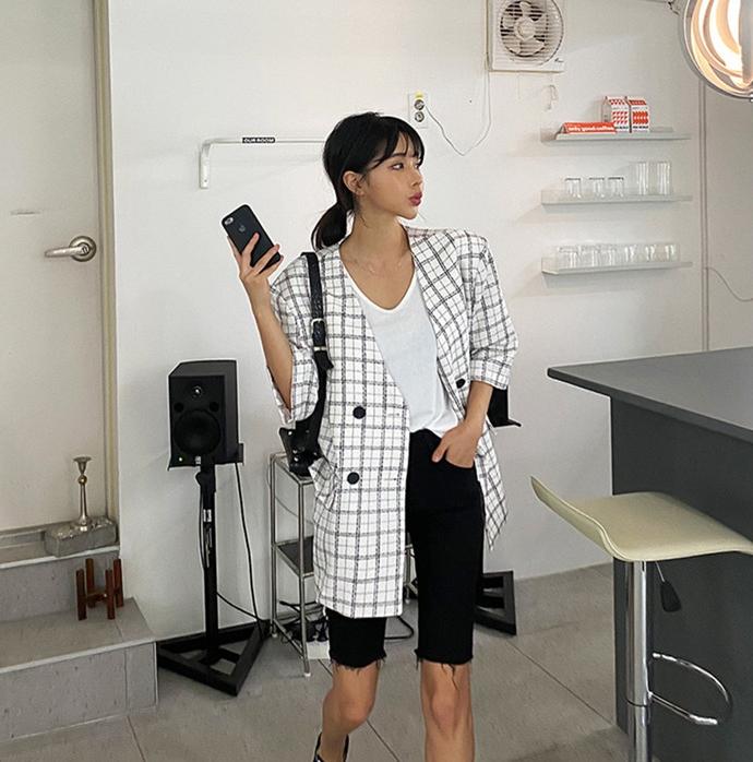 韓国 ファッション ショルダー ポシェット 春 夏 カジュアル PTXK170  チェーン ウエストポーチ ミニバッグ 3Way オルチャン シンプル 定番 セレカジの写真7枚目