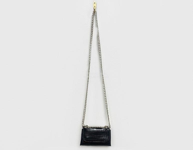 韓国 ファッション ショルダー ポシェット 春 夏 カジュアル PTXK170  チェーン ウエストポーチ ミニバッグ 3Way オルチャン シンプル 定番 セレカジの写真8枚目